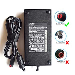 180W AC Adapter Charger for Acer Predator Helios 300 Compatible ADP-180MB K